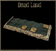 Dead Land SKIRMISH Movement Tray 5x2 for 25mm Bases