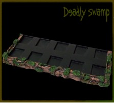Deadly Swamp SKIRMISH Tray 5x2 for 20mm Bases
