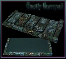 Ghostly Graveyard Movement Tray 5x1 for Cavalry Bases