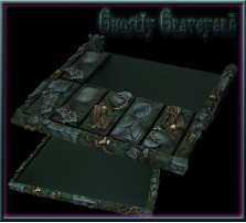 Ghostly Graveyard Movement Tray 5x2 for Cavalry Bases