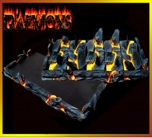 Daemon Movement Tray 5x2 for 25mm Bases