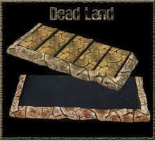 Dead Land Movement Tray 5x2 for 25mm Bases