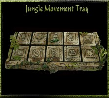 Jungle Movement  Tray 5x2 for 25mm Bases
