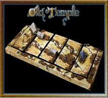 Old Temple Movement Tray 5x1 for Cavalry Bases