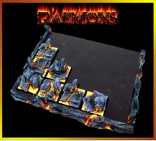 Daemon Movement Tray 5x4 for 25mm Bases