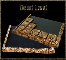Dead Land Movement Tray 5x4 for 25mm Bases