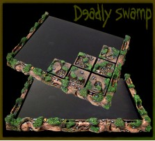 Deadly Swamp Movement Tray 5x4 for 25mm Bases