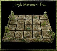 Jungle Movement Tray 5x4 for 25mm Bases