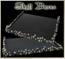 Skull Movement Tray 5x4 for 25mm Bases