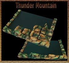 Thunder Mountain Movement Tray 5x4 for 25mm Bases