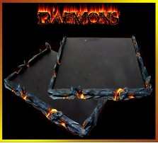 Daemon Movement Tray 5x5 for 25mm Bases