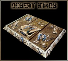 Desert Kings Movement Tray 3x1 for Chariot Bases