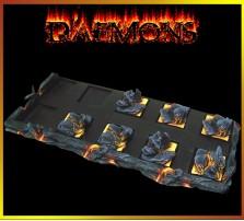 Daemon SKIRMISH Tray 5x2 for 25mm Bases
