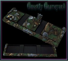 Ghostly Graveyard SKIRMISH Tray 3x1 for 40mm Bases