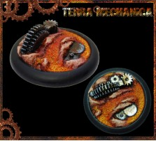 40mm Terra Mechanica Round Lip Base A