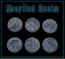 25mm Defiled Realm Round Bases - Set of 5