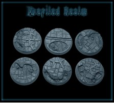 32mm Defiled Realm Round Bases - Set of 4