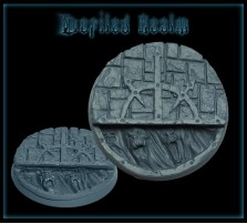 40mm Defiled Realm Round Base A
