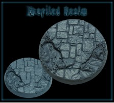 40mm Defiled Realm Round Base B