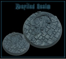 40mm Defiled Realm Round Base D