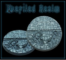 60mm Defiled Realm Round Base A