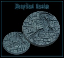 60mm Defiled Realm Round Base B
