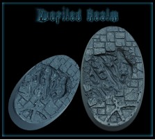 60 x 35mm Defiled Realm Oval Base C