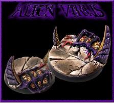 40mm Alien Virus Round Base A