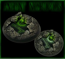 40mm Ancient Necropolis Round Base A