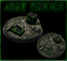 40mm Ancient Necropolis Round Base B