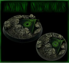 40mm Ancient Necropolis Round Base C