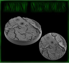50mm Ancient Necropolis Round Base C