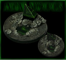60mm Ancient Necropolis Round Base B