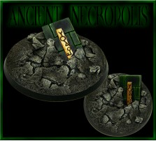 60mm Ancient Necropolis Round Base C