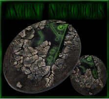 120 x 92mm Ancient Necropolis Oval Base A