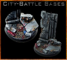 40mm City Battle Round Base B
