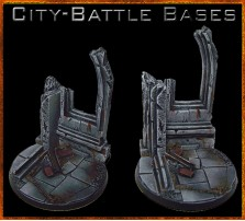60mm City Battle Round Base B