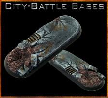 25 x 70mm City Battle Bike Base