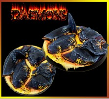 60mm Daemon Round Base A