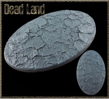 170 x 105mm Dead Land Oval Base A