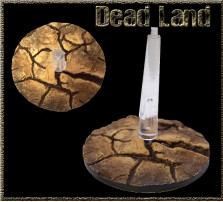 32mm Dead Land Flying Bases - Set of 2 - Without Stands