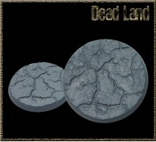50mm Dead Land Round Base A