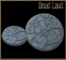50mm Dead Land Round Base B