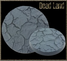 80mm Dead Land Round Base A