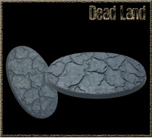 90 x 52mm Dead Land Ovalbase A