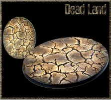 120 x 92mm Dead Land Oval Base A