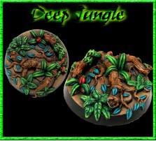 40mm Deep Jungle Round Base A