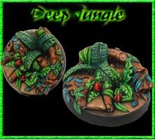 40mm Deep Jungle Round Base B