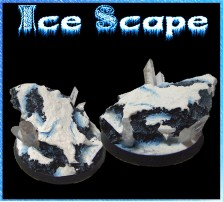 40mm Ice Scape Round Base A
