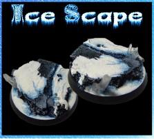 40mm Ice Scape Round Base B